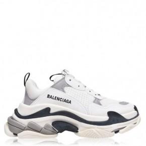 BALENCIAGA 白色Triple S 運動鞋