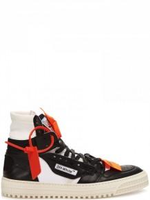 Off White Low 3.0黑色高幫板鞋