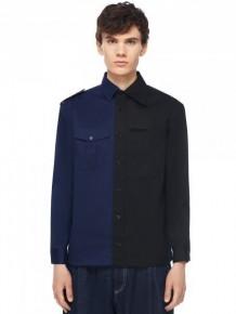 Y3NOLOGY 黑藍拼色恤衫