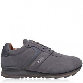 Boss 絨面跑步運動鞋