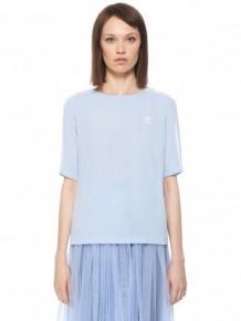 ADIDAS ORIGINALS 紫丁香色間條T-shirt