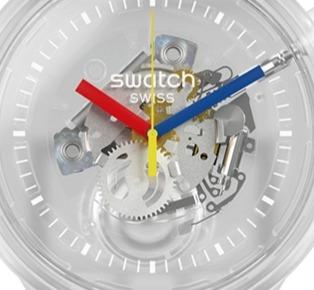 收藏或贈送皆宜新款的Swatch手錶