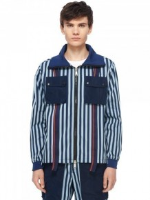 Y3NOLOGY 條紋背包外套