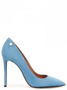 Pollini 藍色高跟鞋