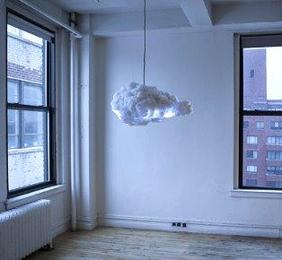 RC STUDIO模擬風暴雲形狀和聲音的時尚吊燈