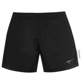 OFF WHITE LOGO 泳褲