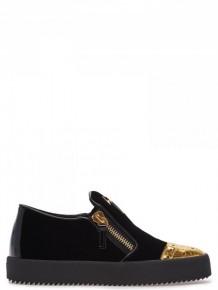 Giuseppe Zanotti 黑色拉鍊運動鞋