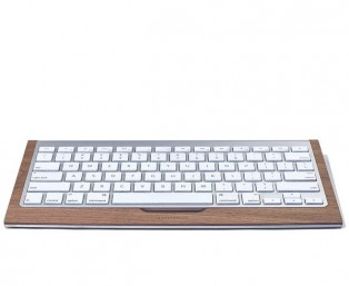 Wood keyboard tray 木製Apple鍵盤板設計