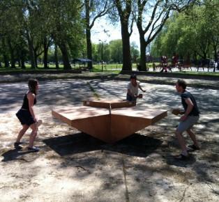 乒乓桌進化篇 為三隊制比賽帶來的新設計