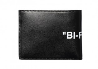 Off White 黑色Bi fold錢包