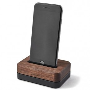 Wood iPhone 6 dock 木製iPhone6底座