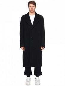 Maison Margiela 黑色長款大衣