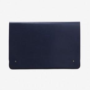 韓國設計五色皮革大碼文件夾