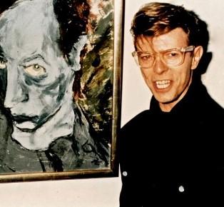 搖滾巨星David Bowie大衛寶兒1977至1995的藝術創作畫作