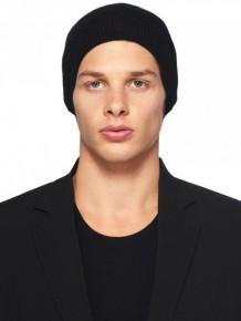 Rick Owens 黑色針織冷帽