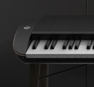 融合B&O A9揚聲器設計而成的鋼琴 您見識過未