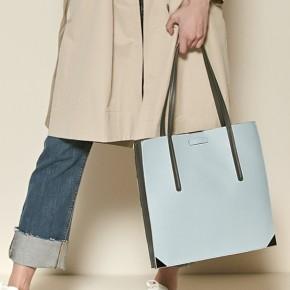 MeK粉藍色文件袋