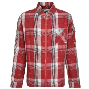 OFF WHITE SKULL CHECKED SHIRT