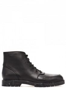 Alexander Wang 黑色皮革高筒鞋