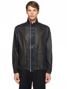 Maison Margiela 黑色風衣外套