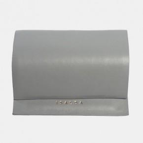 JUN Wallet灰色皮革錢包