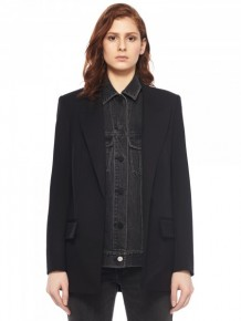 Alexander Wang 黑色牛仔西裝外套