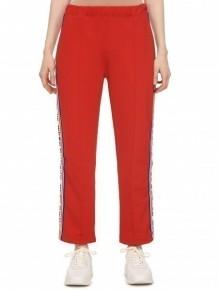 ETRE CECILE 紅色復古風運動褲