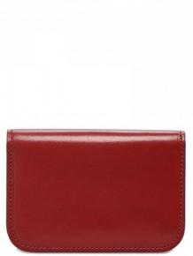 Maison Margiela 紅色皮革錢包卡片套
