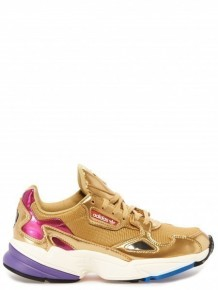ADIDAS ORIGINALS 復古鞋跑步鞋(金色)