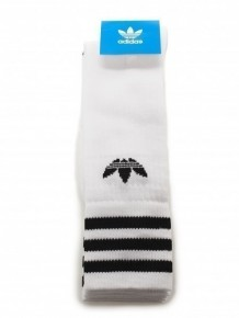 ADIDAS ORIGINALS 白色LOGO襪子