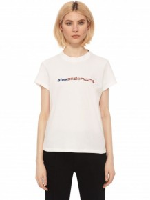 Alexander Wang 白色Logo T-shirt