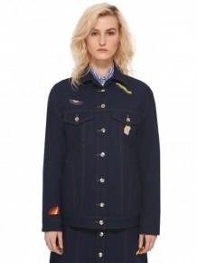 ETRE CECILE 藍色排扣外套