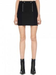 Alexander Wang 黑色雙拉鍊短裙