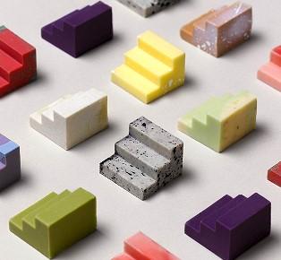 3D打印巧克力玩具 拼砌出您喜愛的朱古力口味