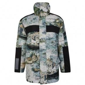 OFF WHITE Lake印花軍旅夾克