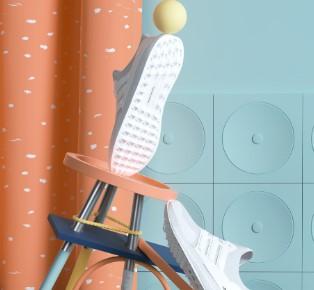 Peter Tarka的時尚男鞋單品展覽設計