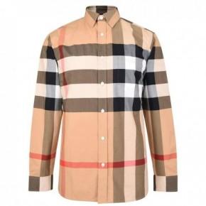 BURBERRY 大款格紋襯衫