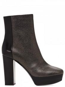 Pollini 黑色皮靴